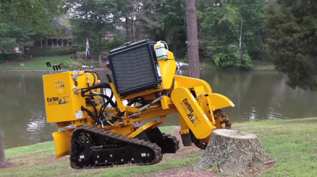 Stump Grinding in Melbourne
